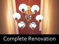 complete renovation